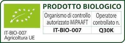 02 Logo BIO con scritte NERE Agricoltura UE