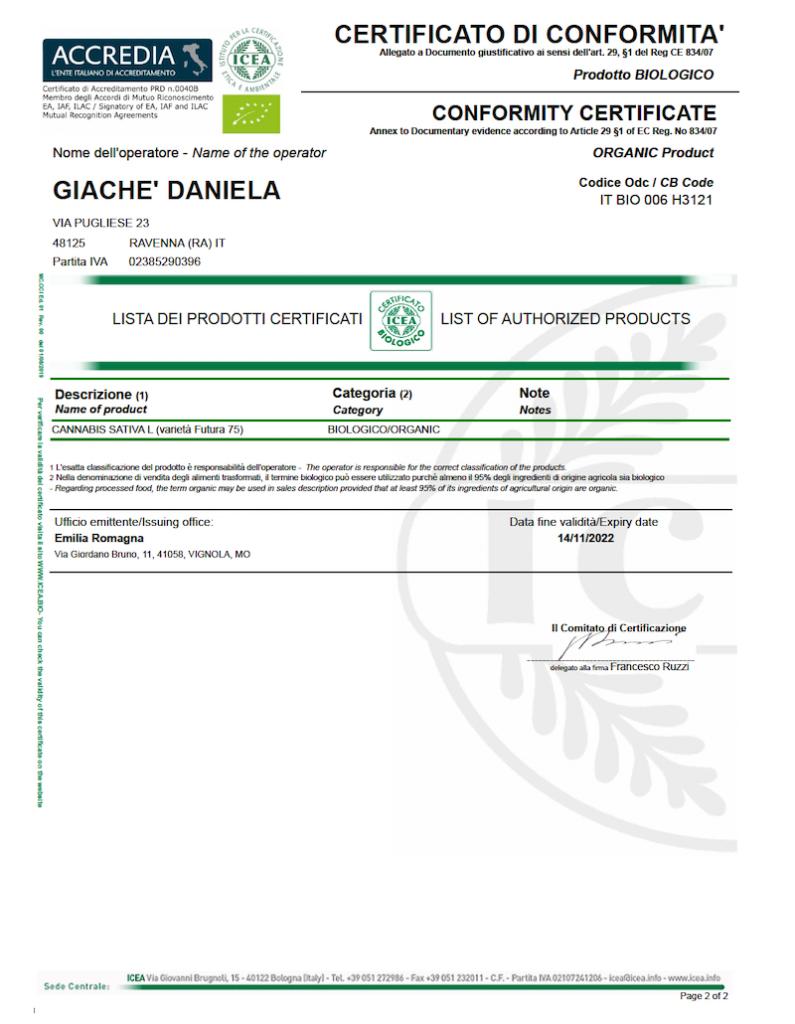 canapa certificazione 2 2